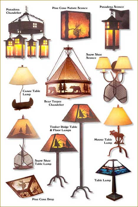 Rustic furniture adirondack rustic lamps sconces table lamps wall casier furniture is there for all your rustic furnishings needs aloadofball Gallery
